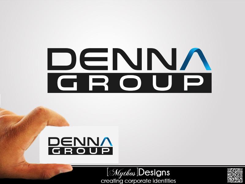 Logo Design by Mythos Designs - Entry No. 86 in the Logo Design Contest Denna Group Logo Design.