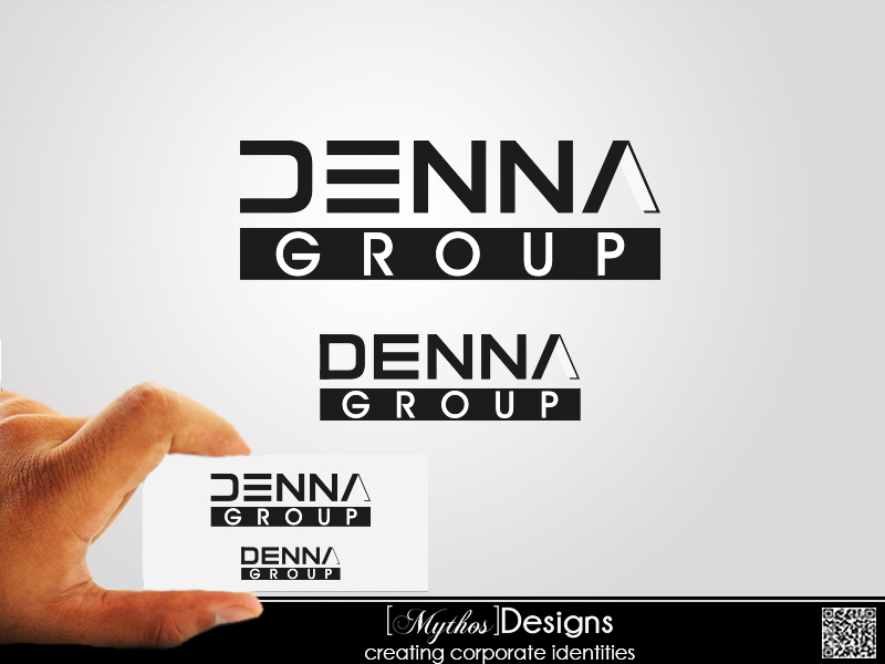 Logo Design by Mythos Designs - Entry No. 87 in the Logo Design Contest Denna Group Logo Design.
