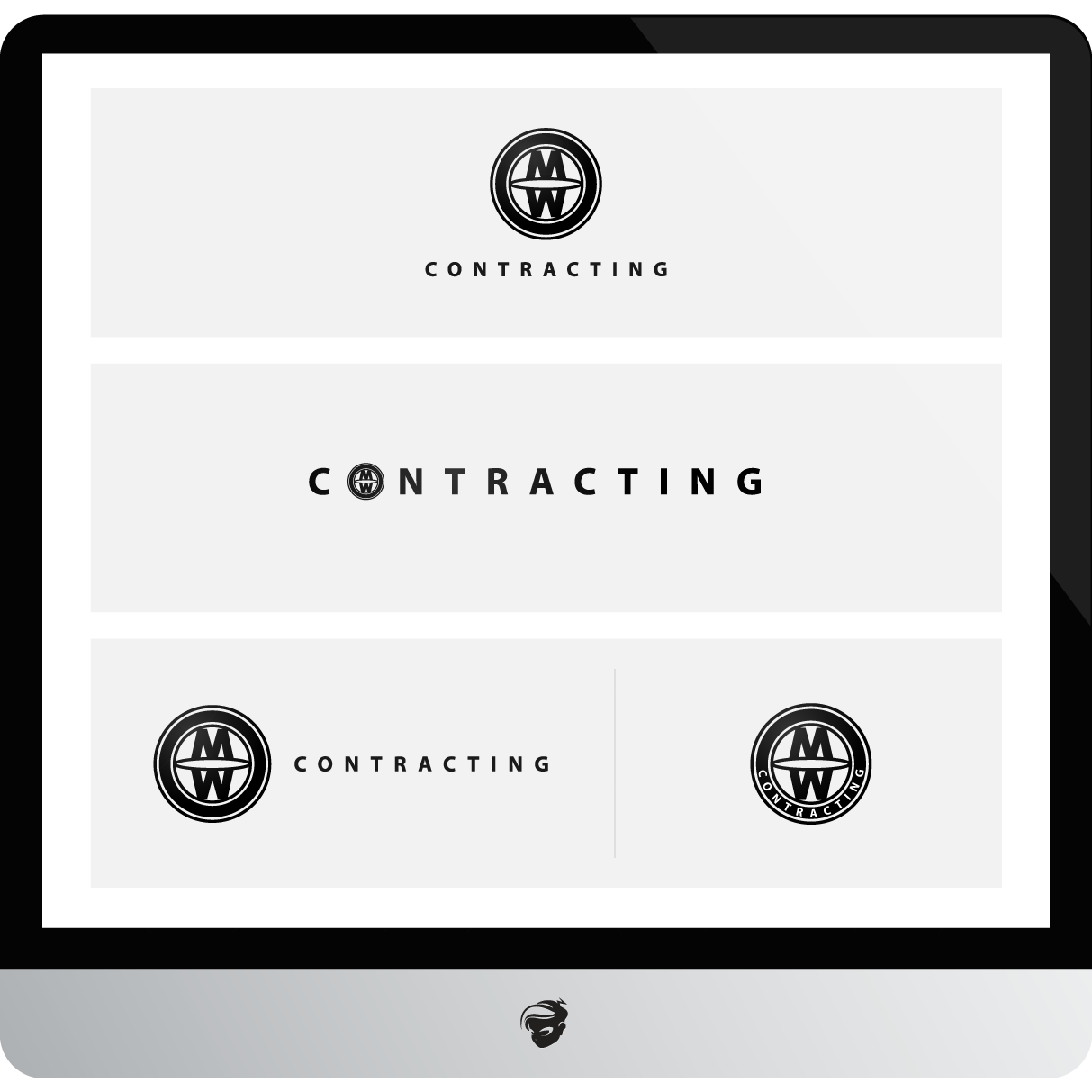 Logo Design by zesthar - Entry No. 34 in the Logo Design Contest Unique Logo Design Wanted for MW Contracting.