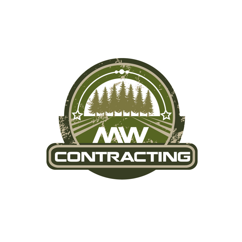 Logo Design by rockin - Entry No. 35 in the Logo Design Contest Unique Logo Design Wanted for MW Contracting.