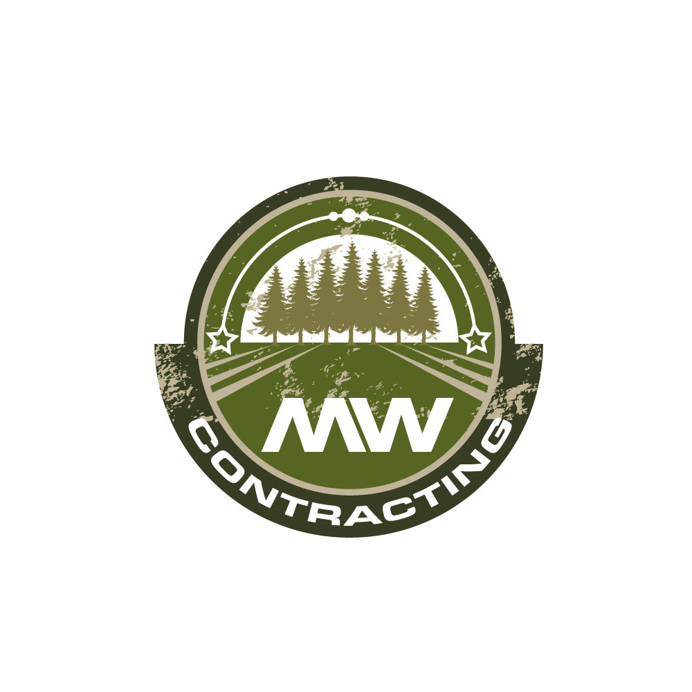 Logo Design by rockin - Entry No. 36 in the Logo Design Contest Unique Logo Design Wanted for MW Contracting.
