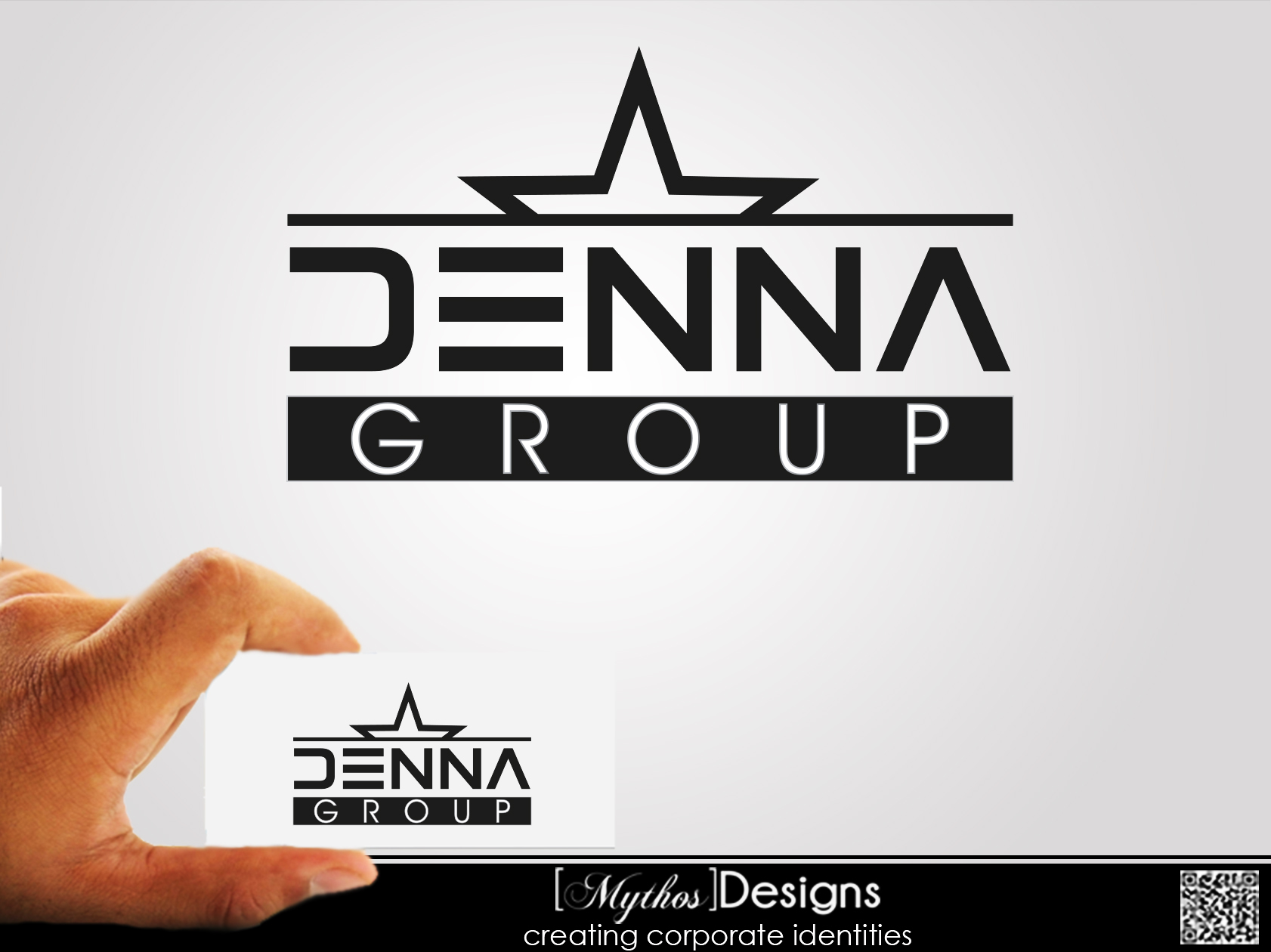 Logo Design by Mythos Designs - Entry No. 92 in the Logo Design Contest Denna Group Logo Design.