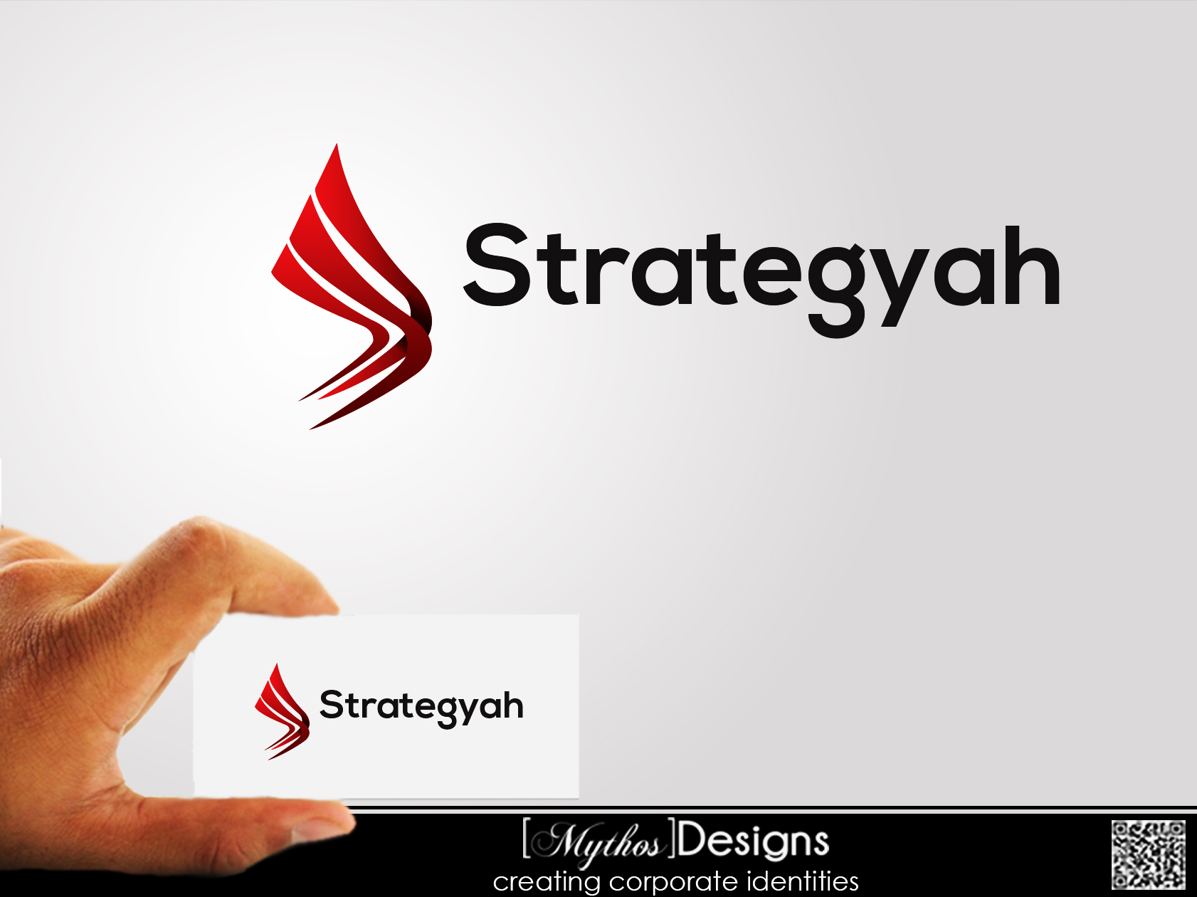 Logo Design by Mythos Designs - Entry No. 7 in the Logo Design Contest Creative Logo Design for Strategyah.