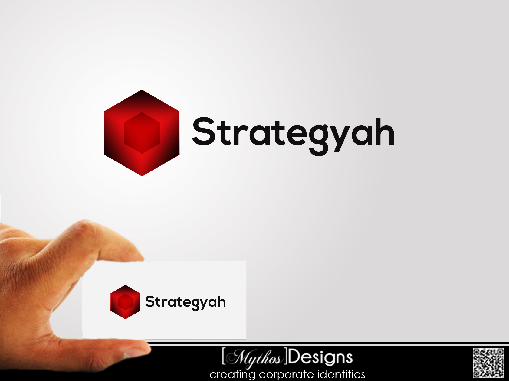 Logo Design by Mythos Designs - Entry No. 9 in the Logo Design Contest Creative Logo Design for Strategyah.