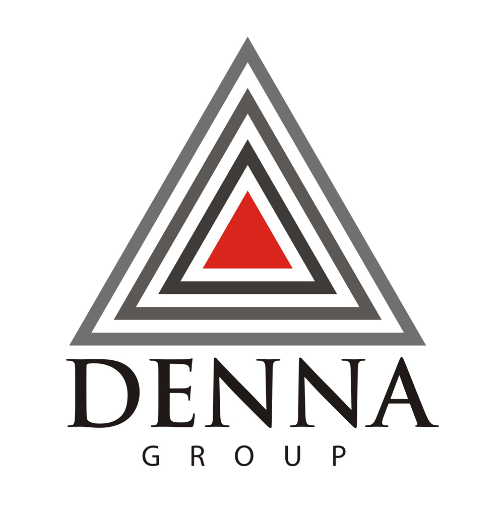 Logo Design by Mahida Kirit Chandrasinh - Entry No. 94 in the Logo Design Contest Denna Group Logo Design.