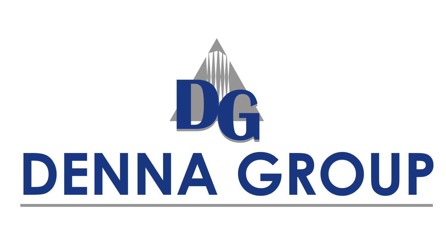 Logo Design by Mahida Kirit Chandrasinh - Entry No. 95 in the Logo Design Contest Denna Group Logo Design.
