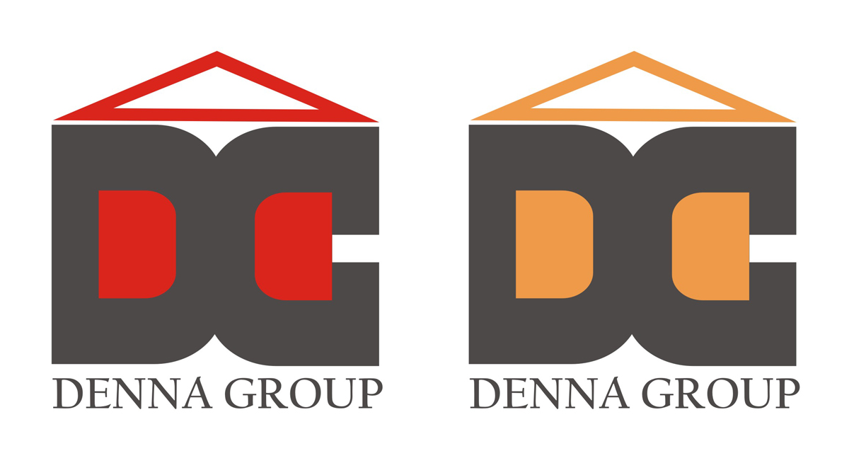 Logo Design by Mahida Kirit Chandrasinh - Entry No. 96 in the Logo Design Contest Denna Group Logo Design.