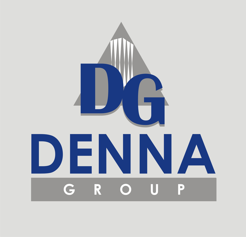 Logo Design by Mahida Kirit Chandrasinh - Entry No. 98 in the Logo Design Contest Denna Group Logo Design.