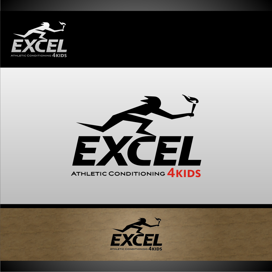 Logo Design by graphicleaf - Entry No. 55 in the Logo Design Contest Artistic Logo Design for Excel Athletic Conditioning 4 kids.