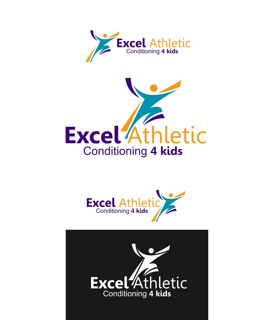 Logo Design by Private User - Entry No. 56 in the Logo Design Contest Artistic Logo Design for Excel Athletic Conditioning 4 kids.