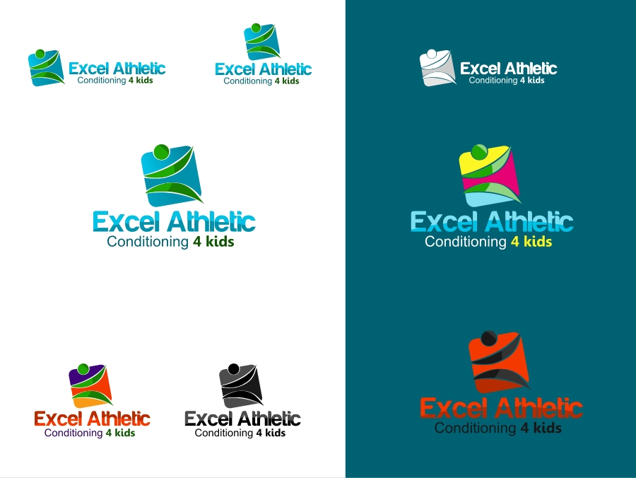 Logo Design by Private User - Entry No. 57 in the Logo Design Contest Artistic Logo Design for Excel Athletic Conditioning 4 kids.