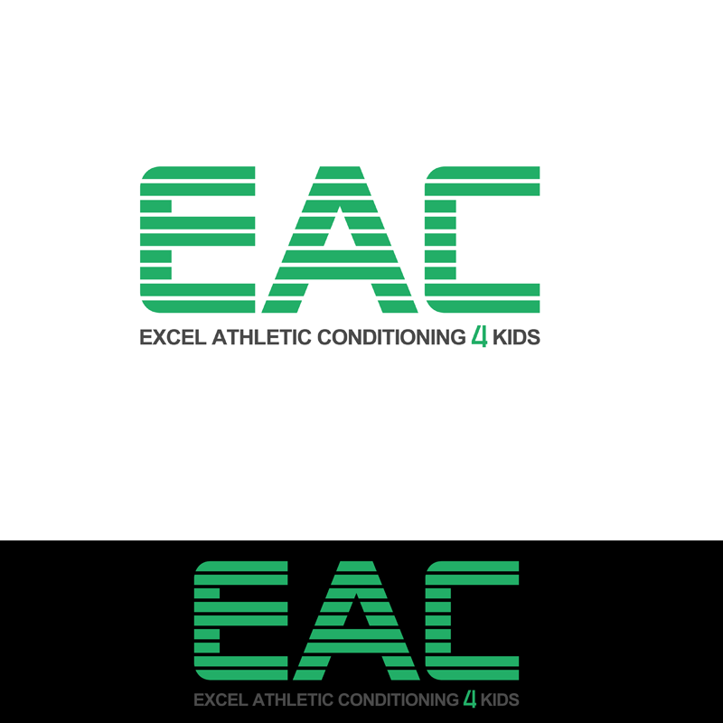 Logo Design by Private User - Entry No. 58 in the Logo Design Contest Artistic Logo Design for Excel Athletic Conditioning 4 kids.