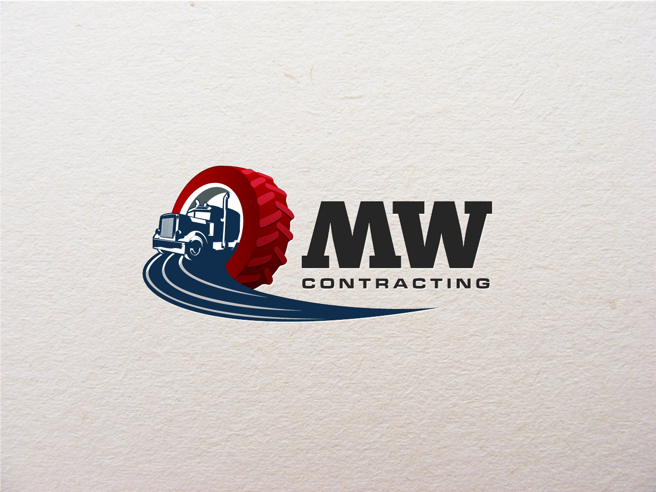 Logo Design by jpbituin - Entry No. 39 in the Logo Design Contest Unique Logo Design Wanted for MW Contracting.