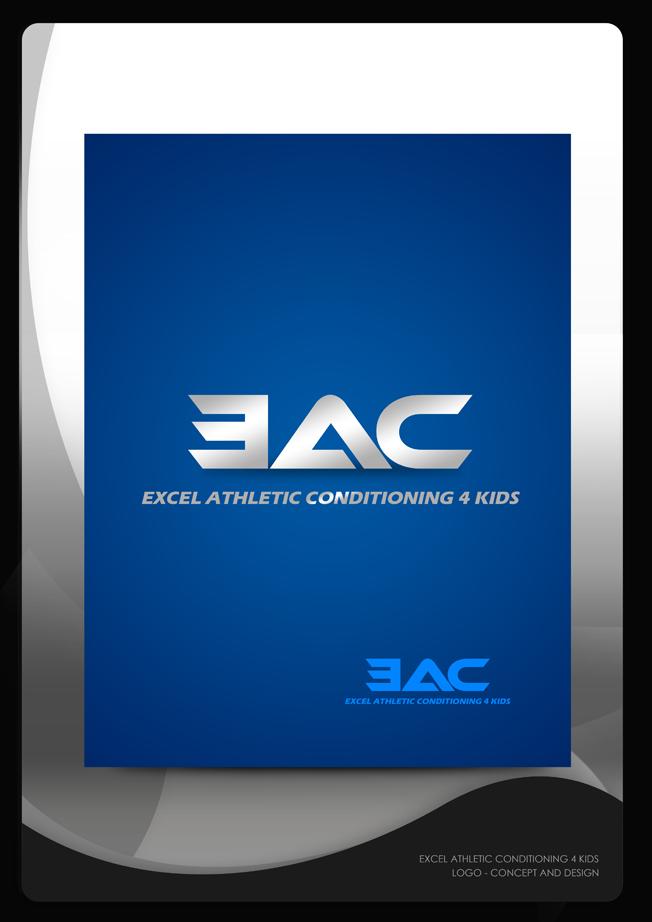 Logo Design by Mark Anthony Moreto Jordan - Entry No. 60 in the Logo Design Contest Artistic Logo Design for Excel Athletic Conditioning 4 kids.