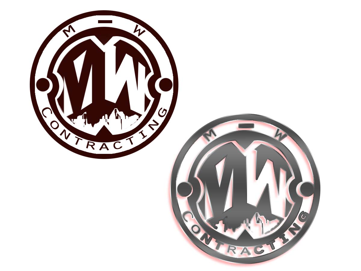 Logo Design by Private User - Entry No. 41 in the Logo Design Contest Unique Logo Design Wanted for MW Contracting.