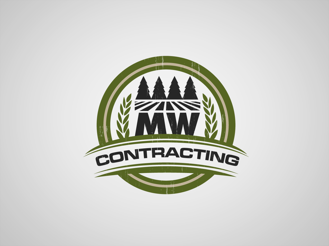 Logo Design by jpbituin - Entry No. 43 in the Logo Design Contest Unique Logo Design Wanted for MW Contracting.