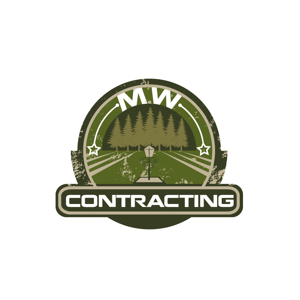 Logo Design by rockin - Entry No. 45 in the Logo Design Contest Unique Logo Design Wanted for MW Contracting.