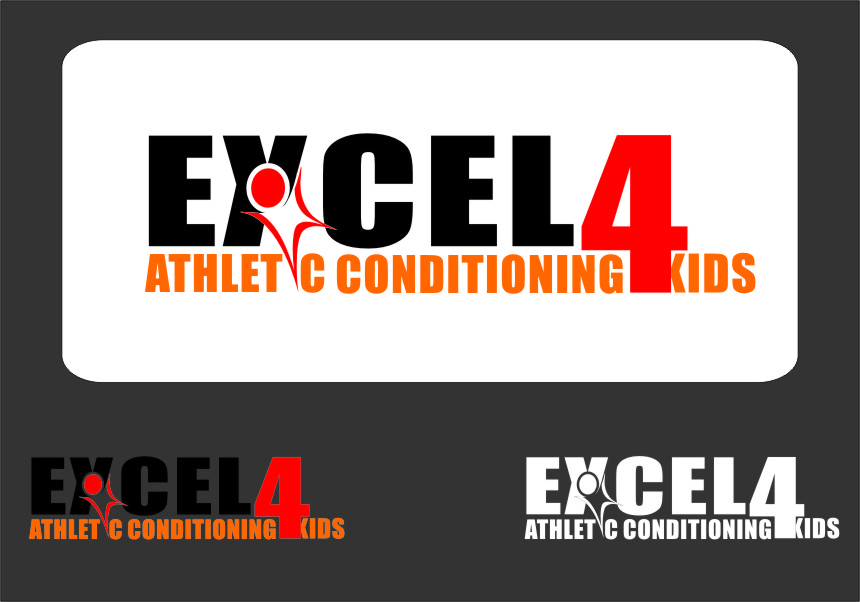 Logo Design by Ngepet_art - Entry No. 64 in the Logo Design Contest Artistic Logo Design for Excel Athletic Conditioning 4 kids.
