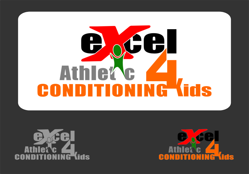 Logo Design by RasYa Muhammad Athaya - Entry No. 65 in the Logo Design Contest Artistic Logo Design for Excel Athletic Conditioning 4 kids.