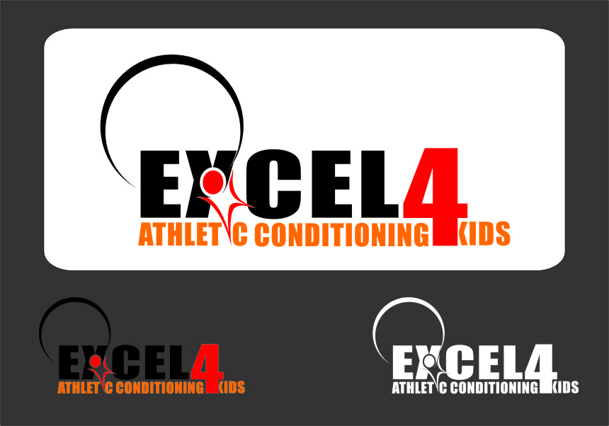 Logo Design by RasYa Muhammad Athaya - Entry No. 67 in the Logo Design Contest Artistic Logo Design for Excel Athletic Conditioning 4 kids.
