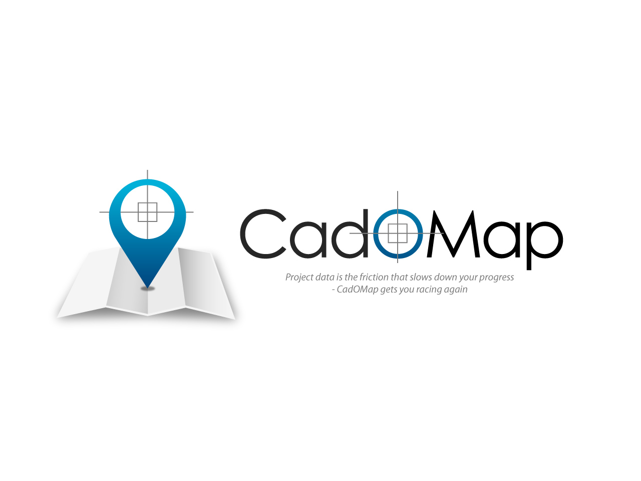Logo Design by jpbituin - Entry No. 7 in the Logo Design Contest Captivating Logo Design for CadOMap software product.