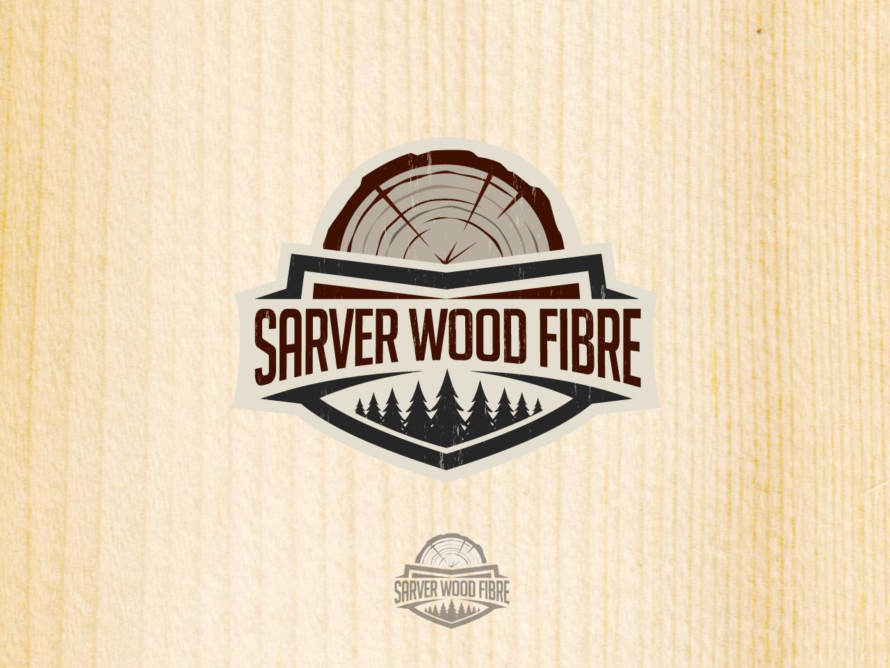 Logo Design by jpbituin - Entry No. 6 in the Logo Design Contest Creative Logo Design for Sarver Wood Fibre..