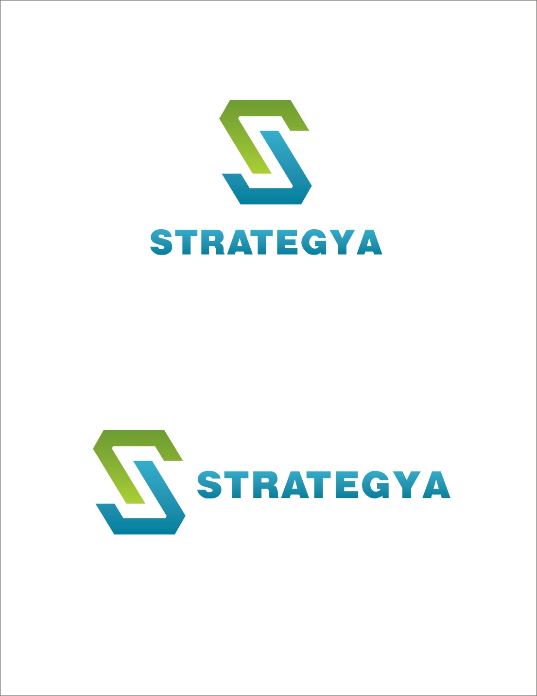 Logo Design by Private User - Entry No. 36 in the Logo Design Contest Creative Logo Design for Strategyah.