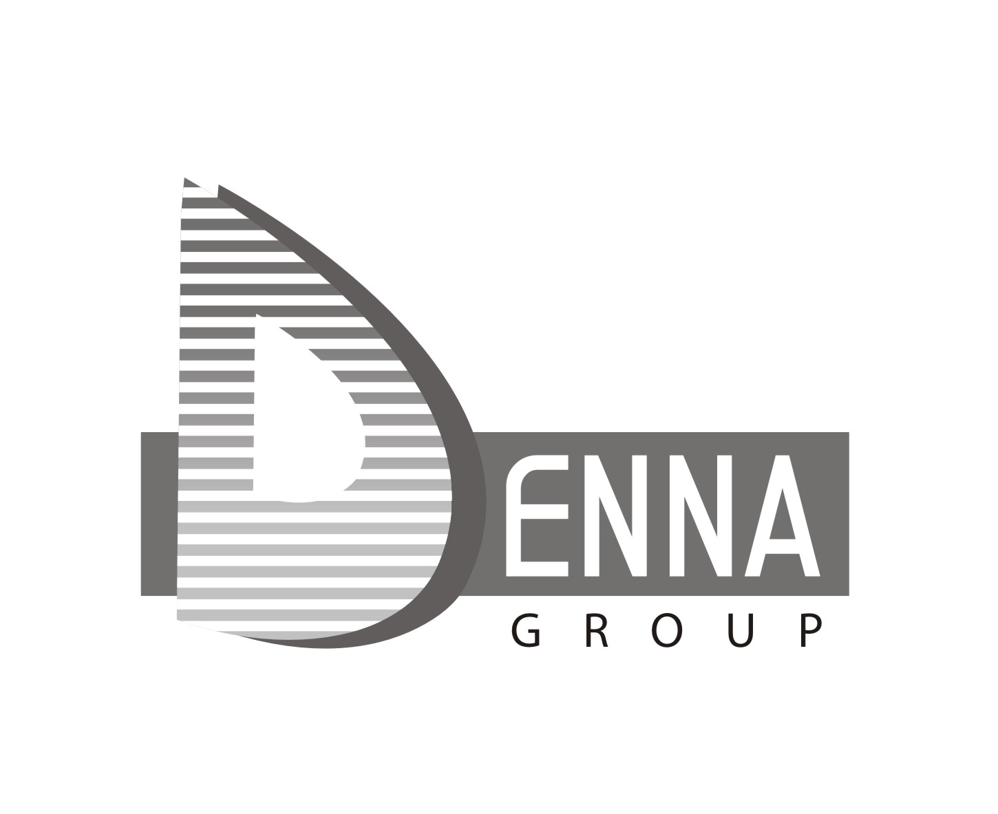 Logo Design by Mahida Kirit Chandrasinh - Entry No. 114 in the Logo Design Contest Denna Group Logo Design.