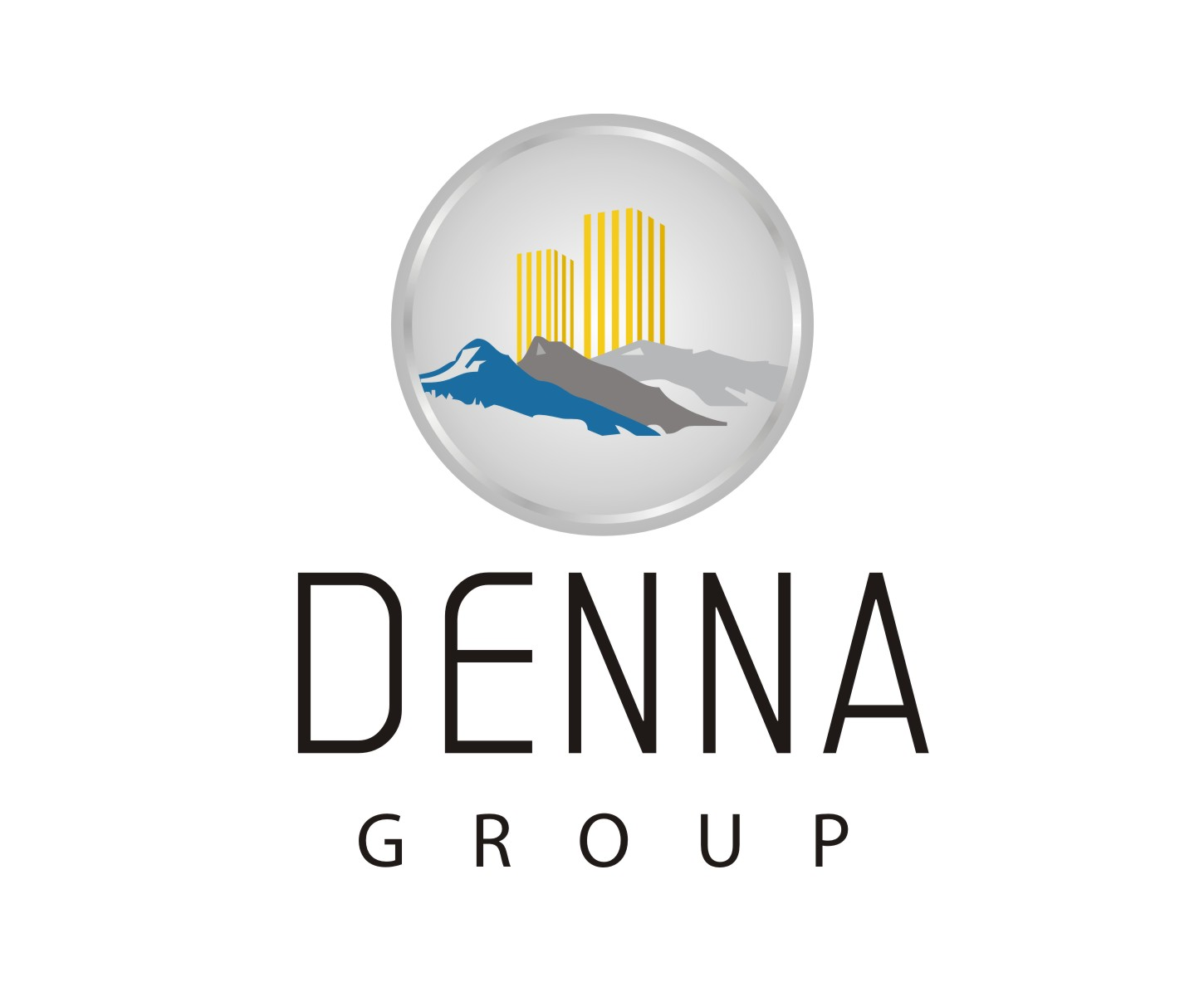 Logo Design by Mahida Kirit Chandrasinh - Entry No. 116 in the Logo Design Contest Denna Group Logo Design.