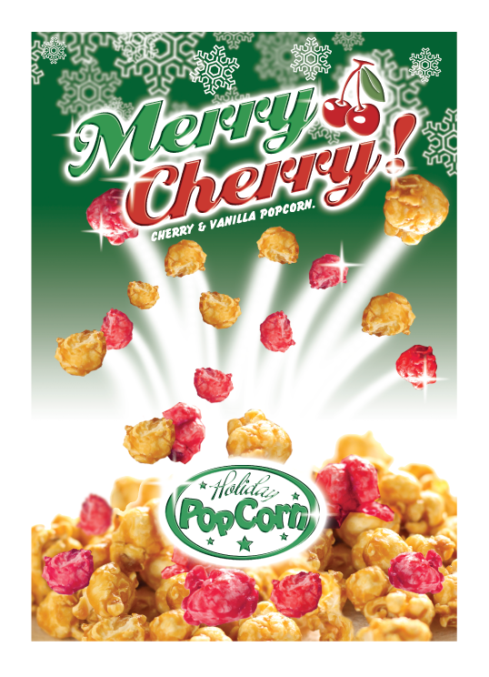 Packaging Design by Severiano Fernandes - Entry No. 14 in the Packaging Design Contest Imaginative Packaging Design for Holiday Popcorn.