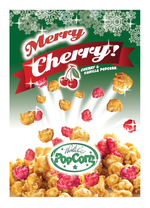 Packaging Design by Severiano Fernandes - Entry No. 15 in the Packaging Design Contest Imaginative Packaging Design for Holiday Popcorn.