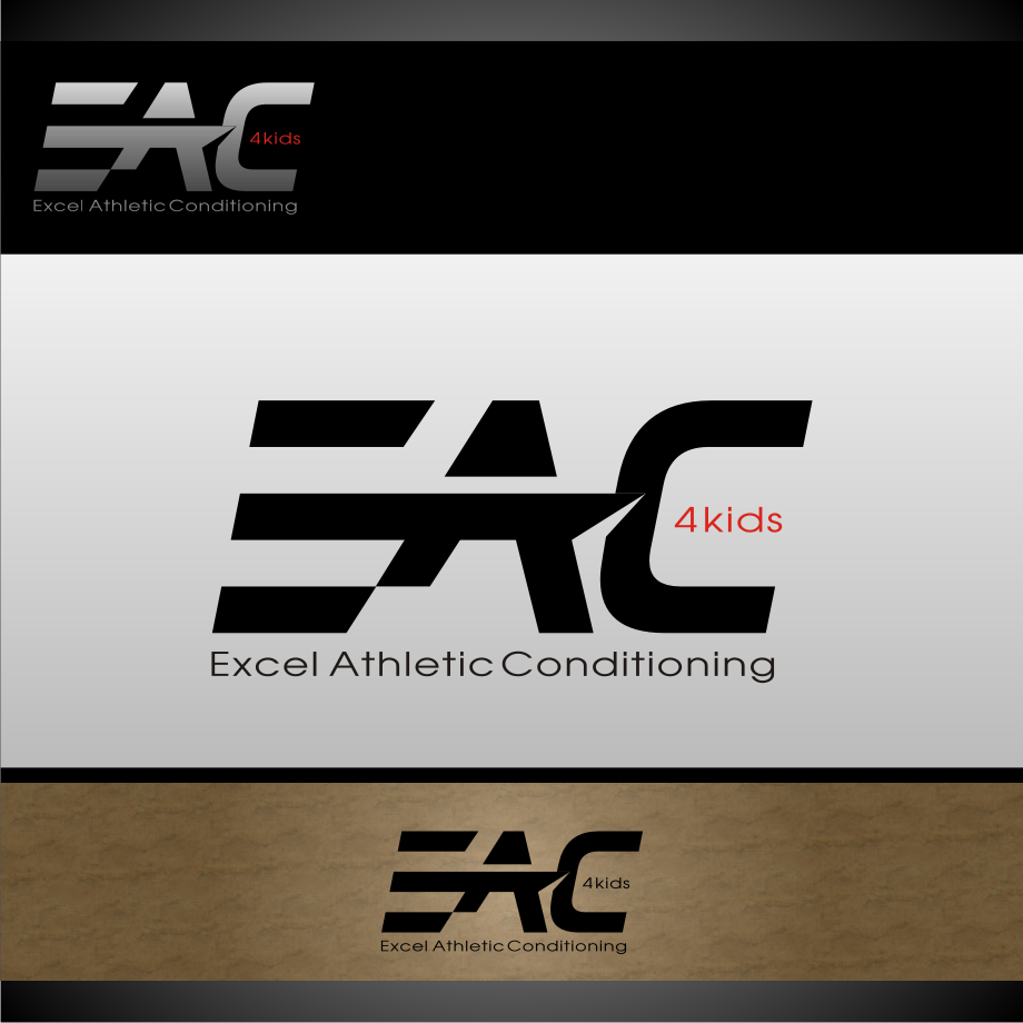 Logo Design by graphicleaf - Entry No. 72 in the Logo Design Contest Artistic Logo Design for Excel Athletic Conditioning 4 kids.