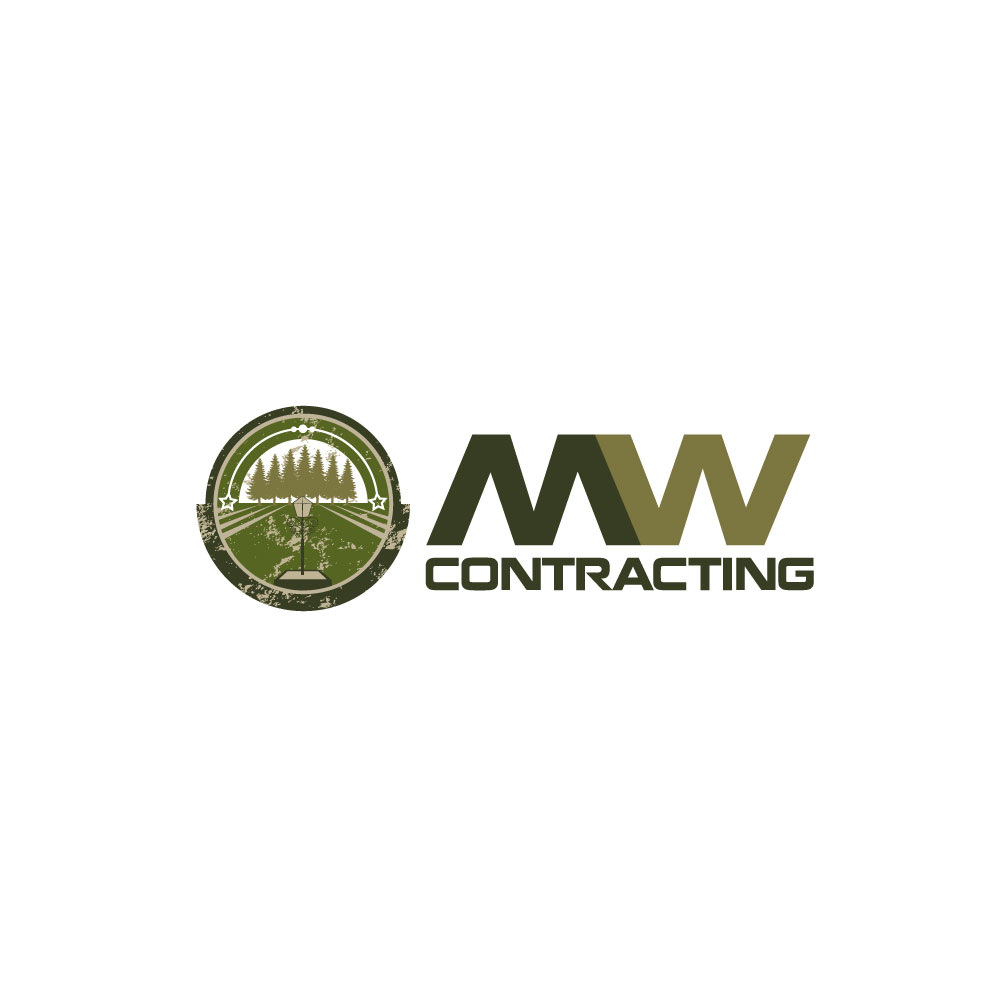 Logo Design by rockin - Entry No. 49 in the Logo Design Contest Unique Logo Design Wanted for MW Contracting.