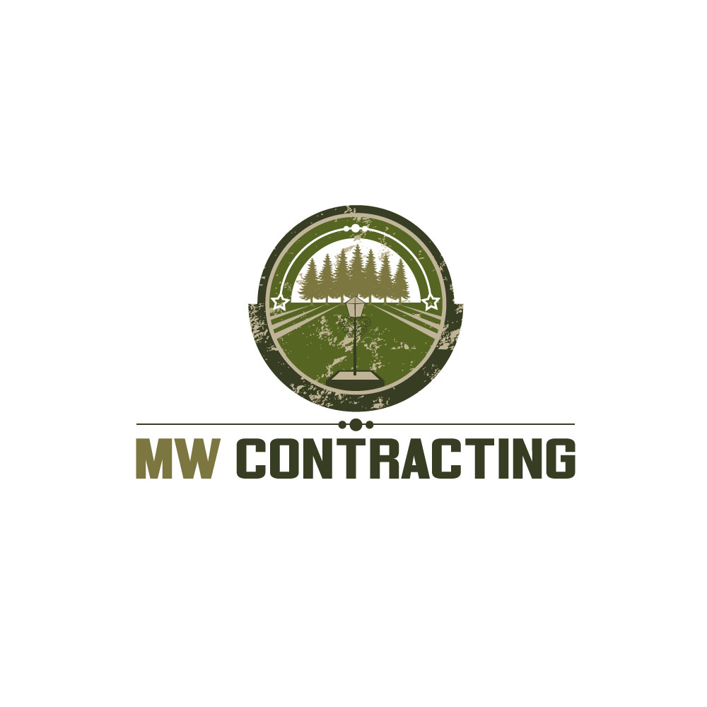 Logo Design by rockin - Entry No. 50 in the Logo Design Contest Unique Logo Design Wanted for MW Contracting.