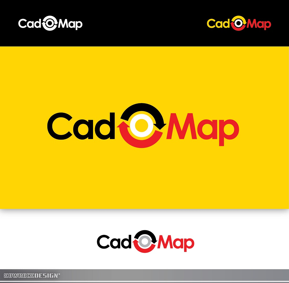 Logo Design by kowreck - Entry No. 11 in the Logo Design Contest Captivating Logo Design for CadOMap software product.
