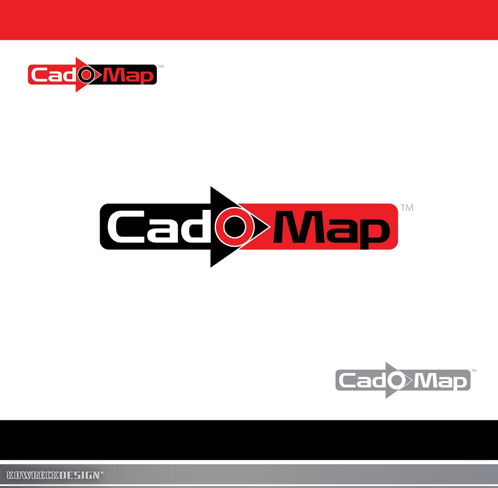 Logo Design by kowreck - Entry No. 12 in the Logo Design Contest Captivating Logo Design for CadOMap software product.