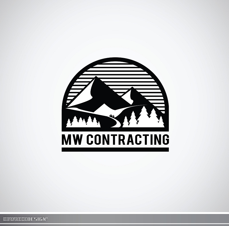 Logo Design by kowreck - Entry No. 51 in the Logo Design Contest Unique Logo Design Wanted for MW Contracting.