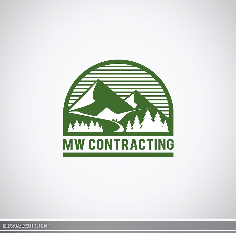Logo Design by kowreck - Entry No. 52 in the Logo Design Contest Unique Logo Design Wanted for MW Contracting.