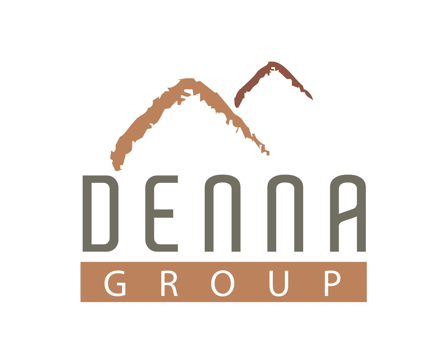 Logo Design by Mahida Kirit Chandrasinh - Entry No. 122 in the Logo Design Contest Denna Group Logo Design.