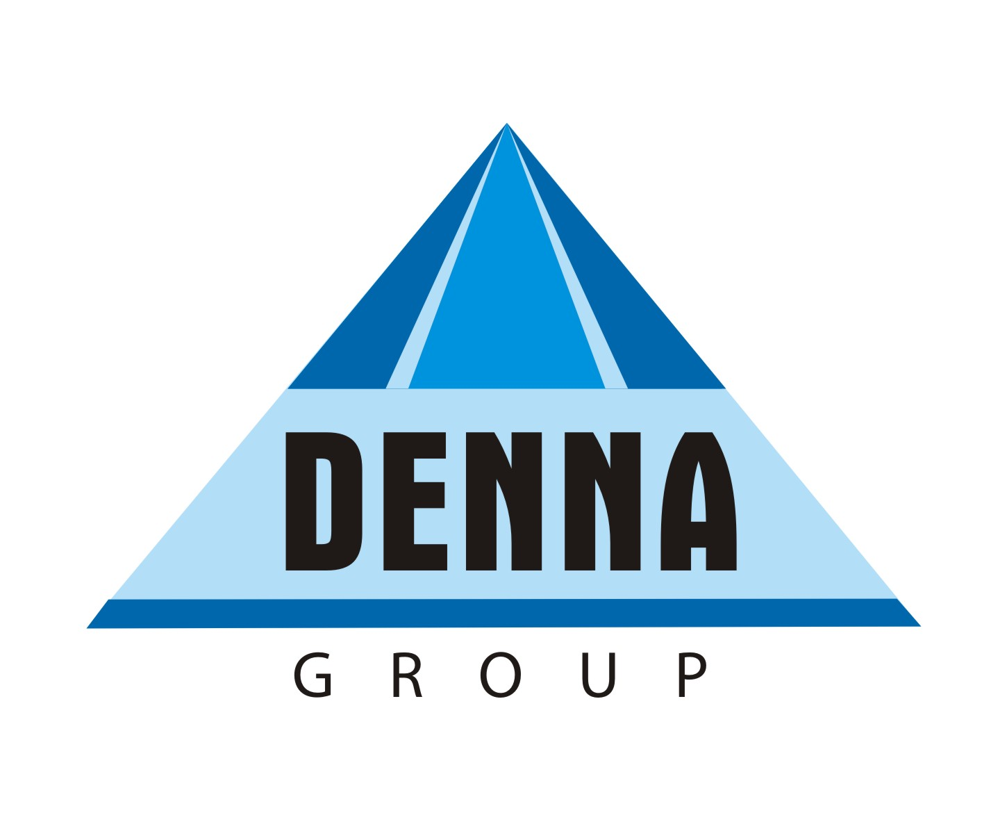 Logo Design by Mahida Kirit Chandrasinh - Entry No. 124 in the Logo Design Contest Denna Group Logo Design.