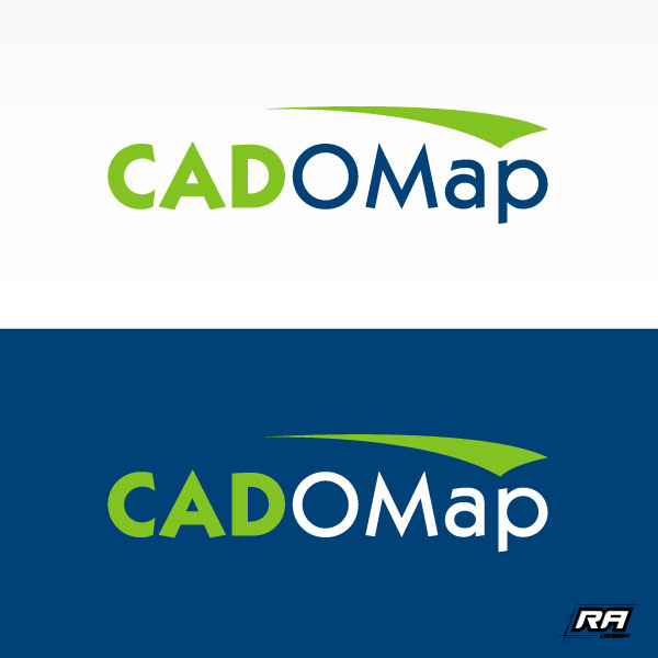 Logo Design by RA-Design - Entry No. 13 in the Logo Design Contest Captivating Logo Design for CadOMap software product.