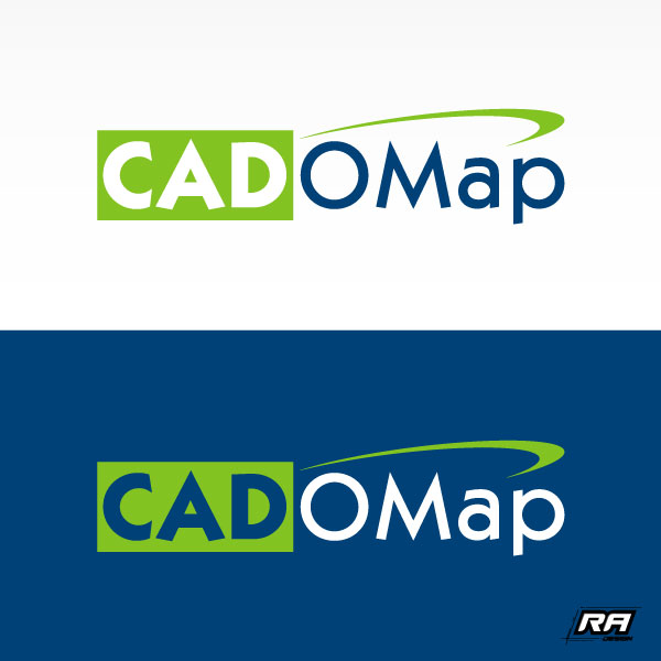 Logo Design by RA-Design - Entry No. 14 in the Logo Design Contest Captivating Logo Design for CadOMap software product.