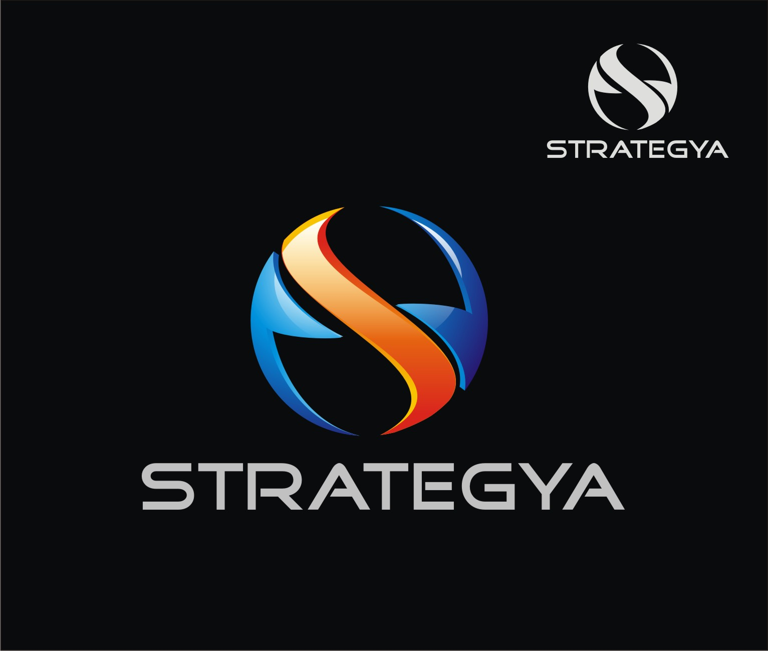 Logo Design by Reivan Ferdinan - Entry No. 65 in the Logo Design Contest Creative Logo Design for Strategyah.