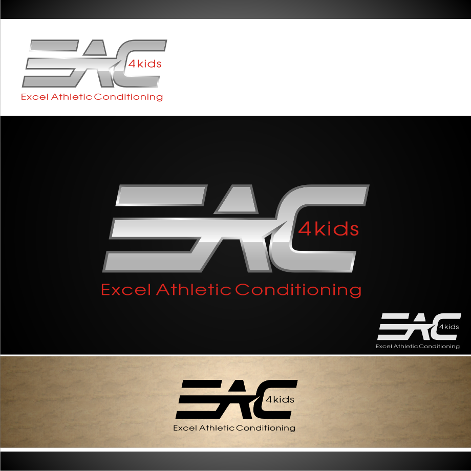 Logo Design by graphicleaf - Entry No. 76 in the Logo Design Contest Artistic Logo Design for Excel Athletic Conditioning 4 kids.