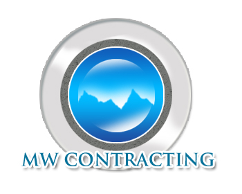 Logo Design by Crystal Desizns - Entry No. 59 in the Logo Design Contest Unique Logo Design Wanted for MW Contracting.