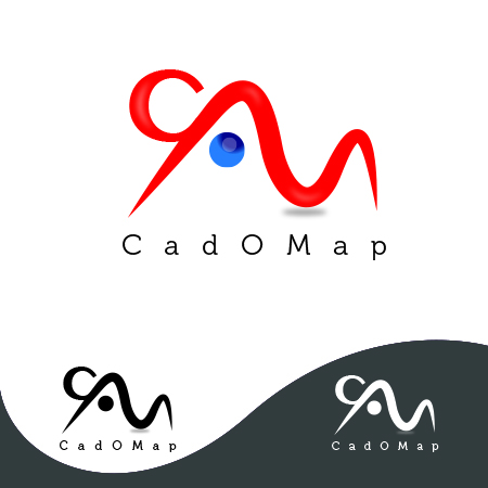 Logo Design by storm - Entry No. 15 in the Logo Design Contest Captivating Logo Design for CadOMap software product.