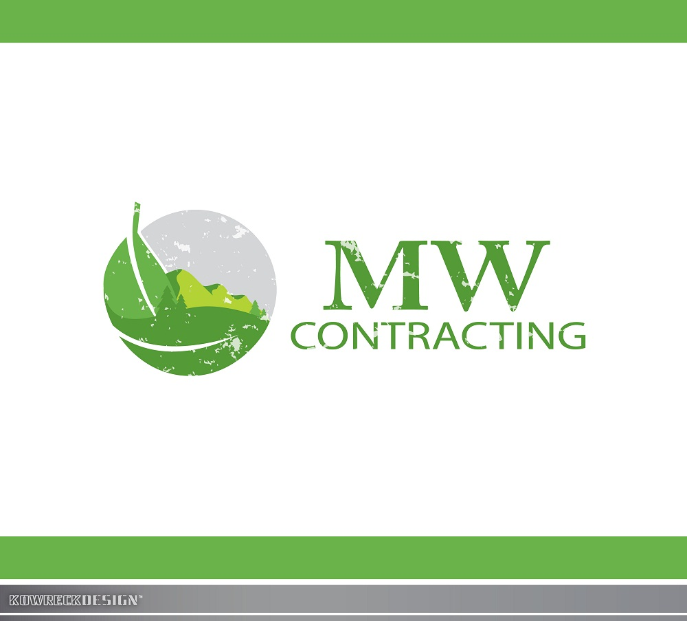 Logo Design by kowreck - Entry No. 62 in the Logo Design Contest Unique Logo Design Wanted for MW Contracting.