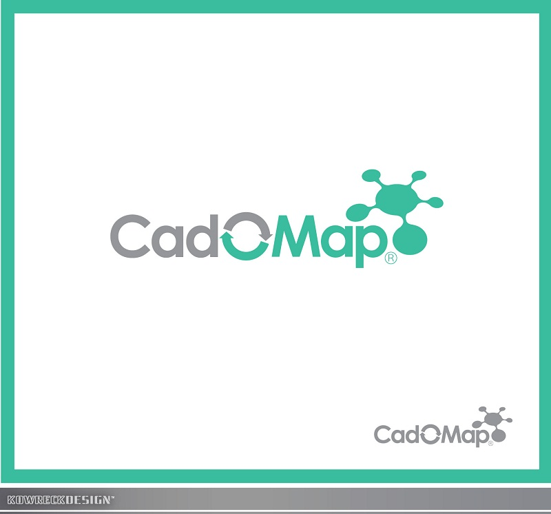 Logo Design by kowreck - Entry No. 18 in the Logo Design Contest Captivating Logo Design for CadOMap software product.