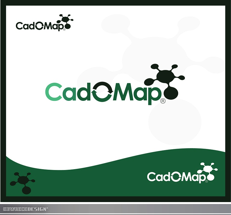 Logo Design by kowreck - Entry No. 23 in the Logo Design Contest Captivating Logo Design for CadOMap software product.