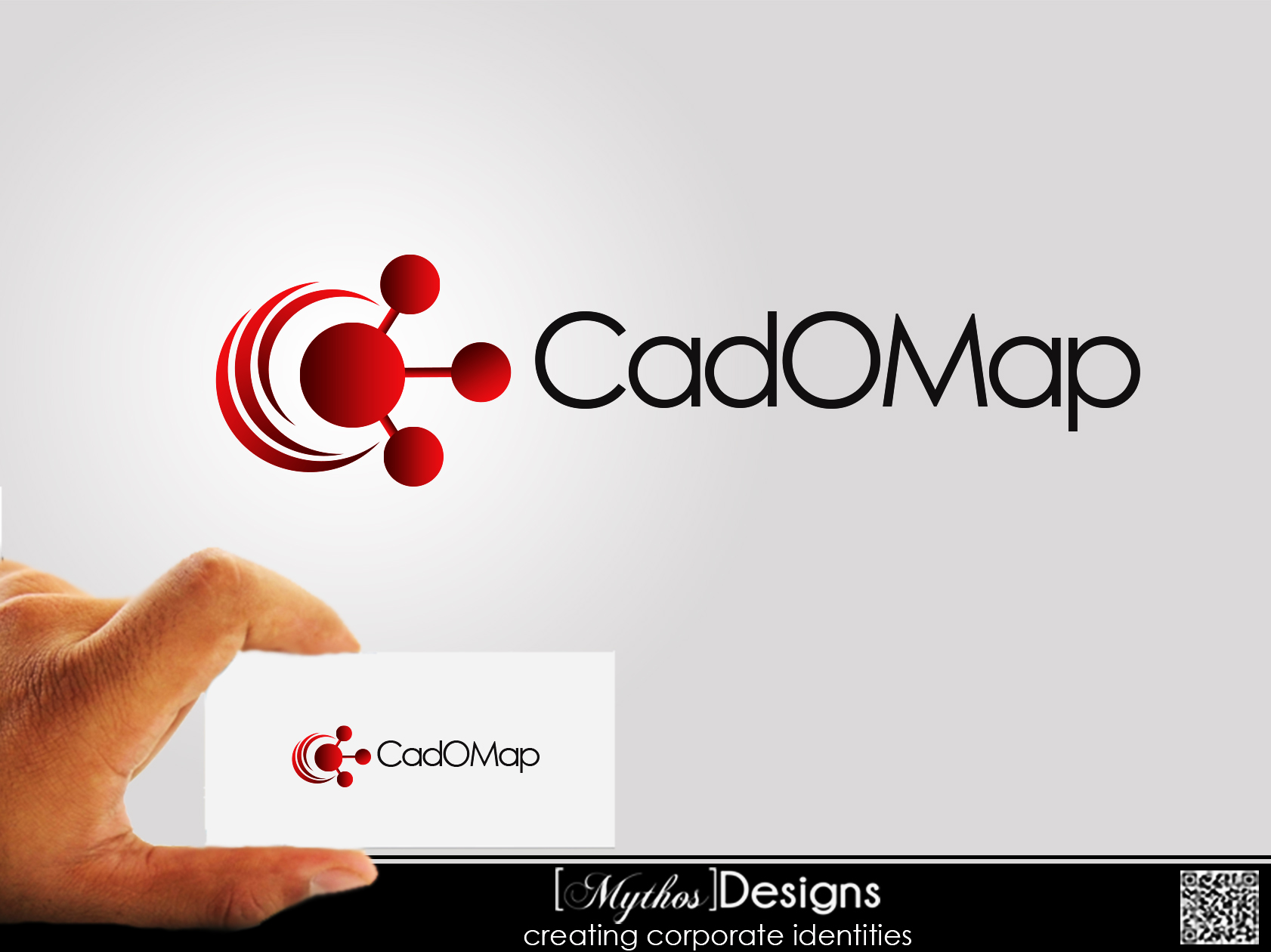 Logo Design by Mythos Designs - Entry No. 30 in the Logo Design Contest Captivating Logo Design for CadOMap software product.